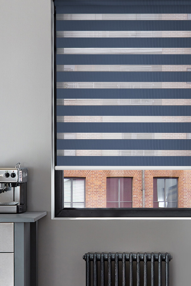 Top Down Bottom Up Blinds With Curtains